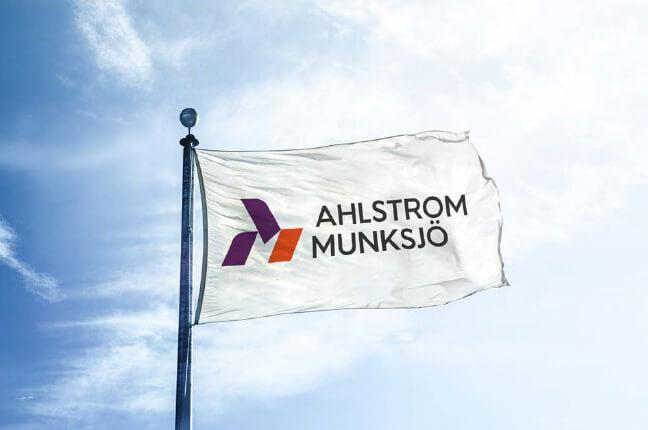 Ahlstrom-Munksjö logo